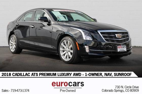 2018 Cadillac ATS Premium:24 car images available