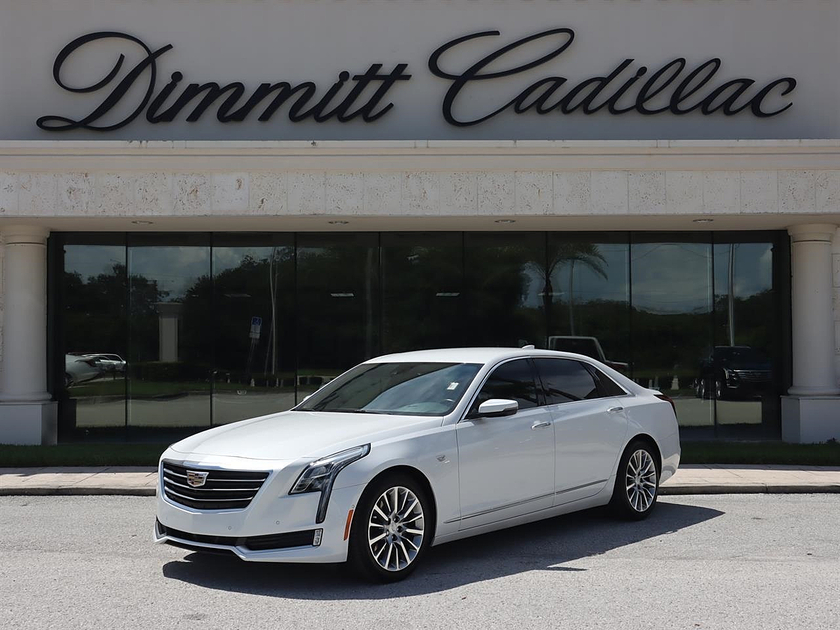 2018 Cadillac CT6 3.6L Luxury:24 car images available