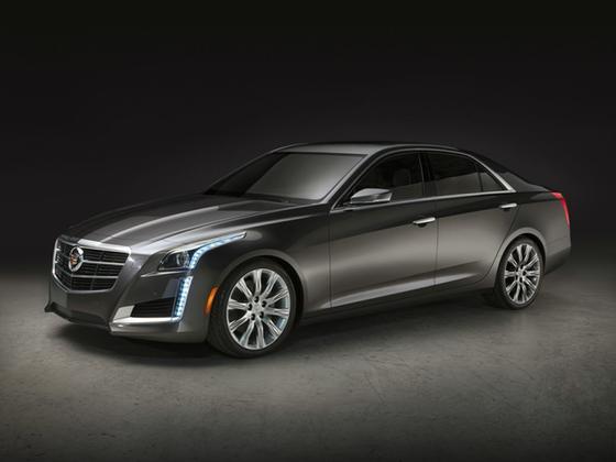 2014 Cadillac CTS Performance : Car has generic photo