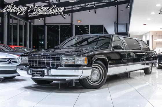 1996 Cadillac Classics Fleetwood:24 car images available