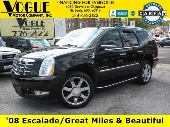 2008 Cadillac Escalade :24 car images available