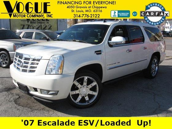 2007 Cadillac Escalade ESV:24 car images available