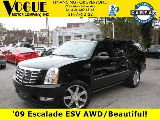 2009 Cadillac Escalade ESV:24 car images available
