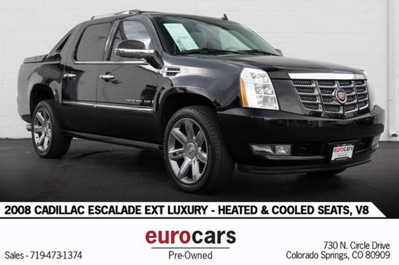 2008 Cadillac Escalade EXT:24 car images available
