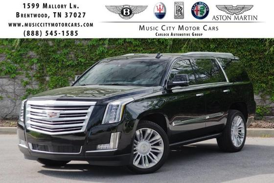 2016 Cadillac Escalade Platinum Edition:24 car images available