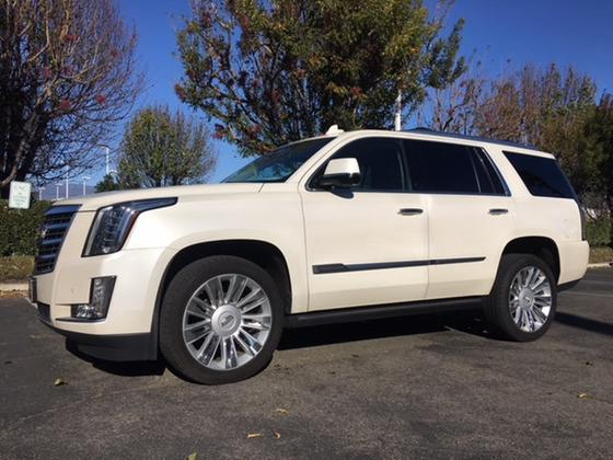 2015 Cadillac Escalade Platinum Edition:24 car images available