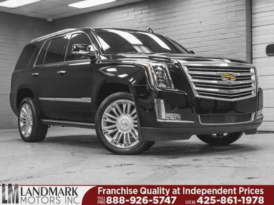 2017 Cadillac Escalade Platinum:24 car images available