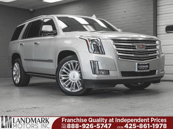 2016 Cadillac Escalade Platinum:24 car images available