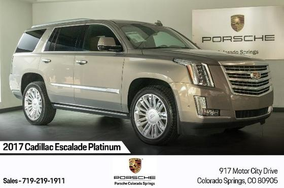 2017 Cadillac Escalade Platinum:24 car images available
