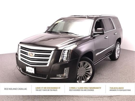 2018 Cadillac Escalade Platinum:24 car images available