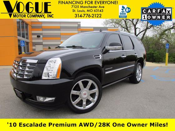 2010 Cadillac Escalade Premium:24 car images available
