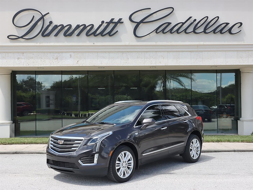 2018 Cadillac XT5 Premium Luxury:24 car images available