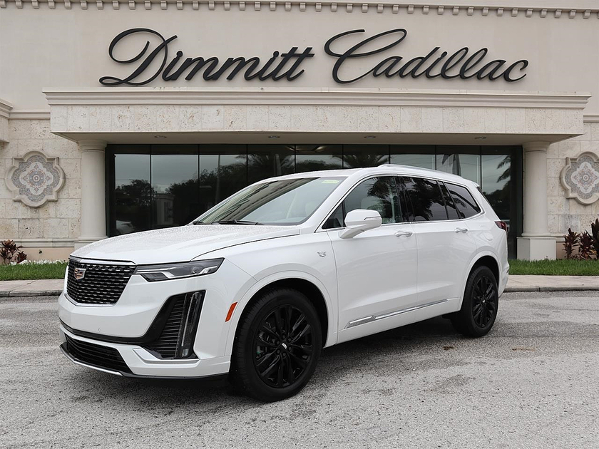 2021 Cadillac XT6 Premium Luxury:21 car images available