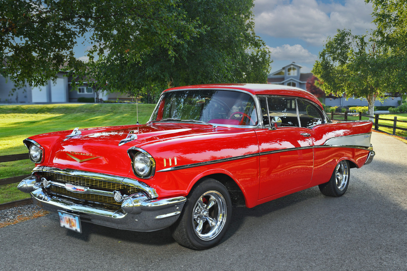 1957 Chevrolet Bel Air Hardtop:16 car images available