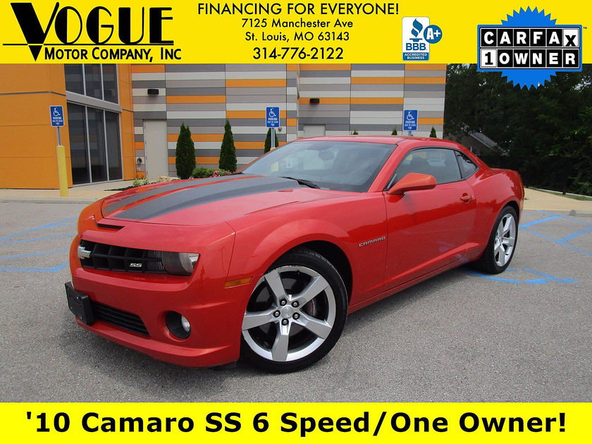 2010 Chevrolet Camaro 1SS:20 car images available