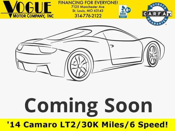 2014 Chevrolet Camaro LT : Car has generic photo
