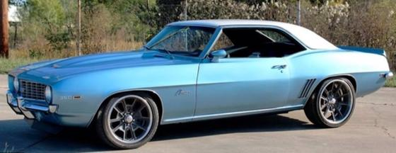 1969 Chevrolet Camaro LT:5 car images available