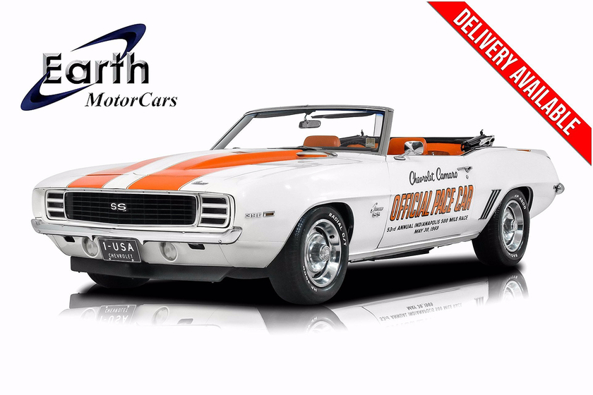1969 Chevrolet Camaro Pace Car:24 car images available