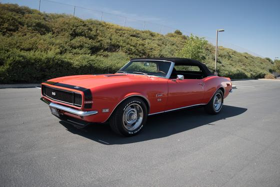 1968 Chevrolet Camaro RS/SS:9 car images available