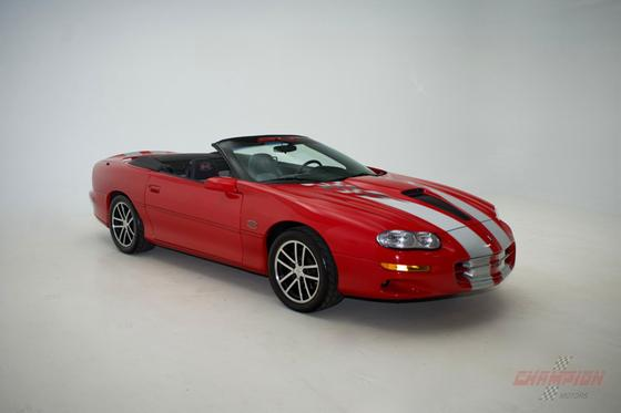 2002 Chevrolet Camaro SS:24 car images available