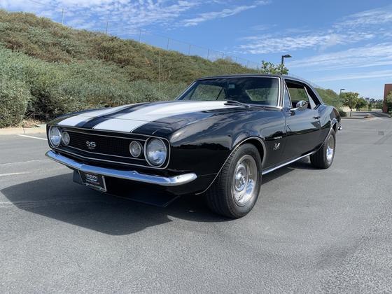 1967 Chevrolet Camaro SS:9 car images available