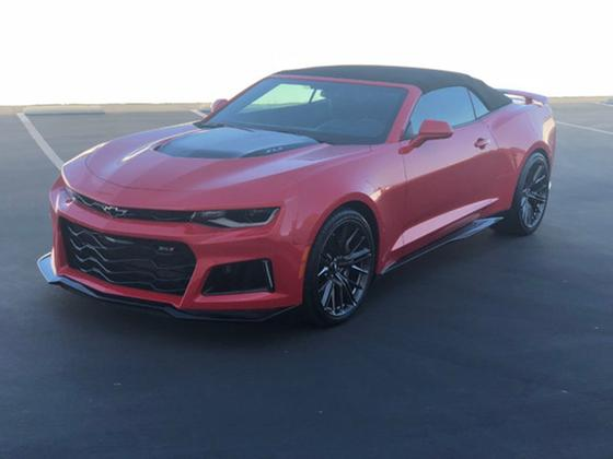 2017 Chevrolet Camaro ZL1:21 car images available