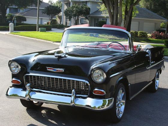 1955 Chevrolet Classics 210:6 car images available