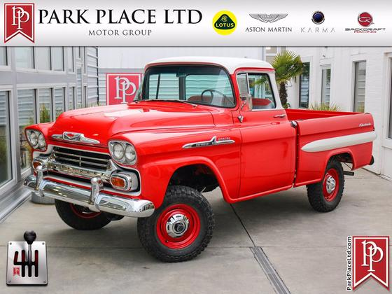 1958 Chevrolet Classics 3100:24 car images available