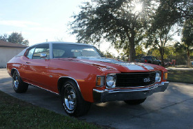 1972 Chevrolet Classics Chevelle SS:8 car images available