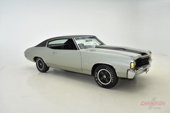 1972 Chevrolet Classics Chevelle SS