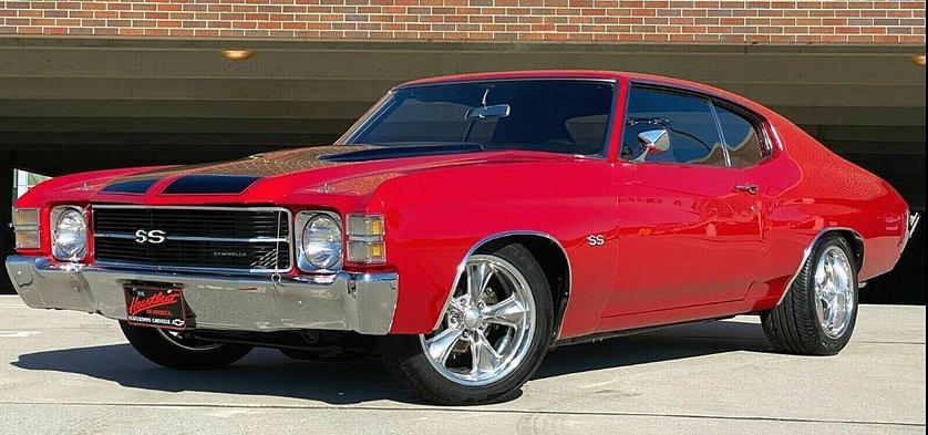 1971 Chevrolet Classics Chevelle:8 car images available
