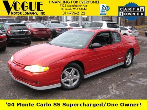 2004 Chevrolet Classics Monte Carlo SS:22 car images available