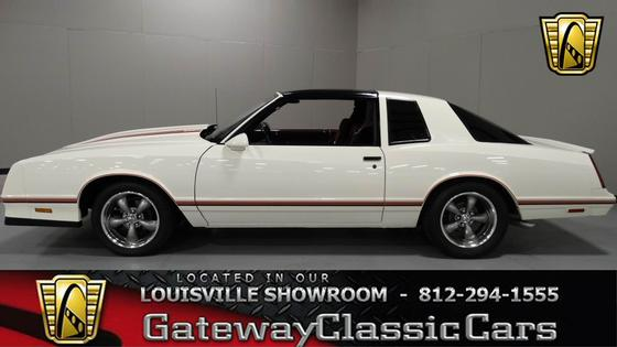 1987 Chevrolet Classics Monte Carlo:24 car images available