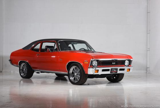 1971 Chevrolet Classics Nova:24 car images available