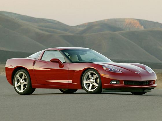 2005 Chevrolet Corvette Base : Car has generic photo