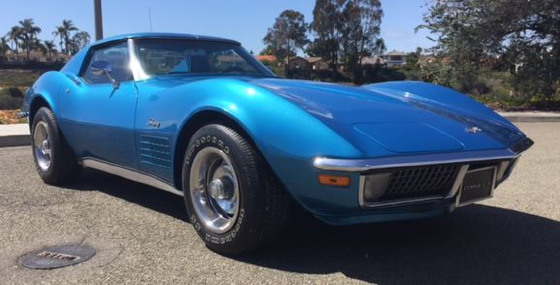 1971 Chevrolet Corvette Base:6 car images available