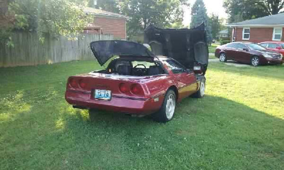 1989 Chevrolet Corvette Base