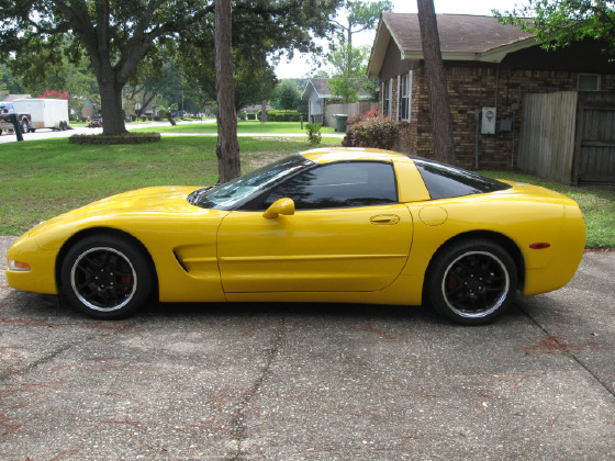 2003 Chevrolet Corvette Coupe