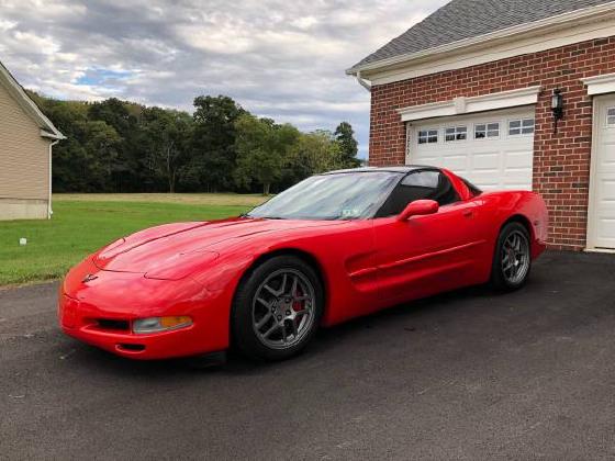 2002 Chevrolet Corvette Coupe:9 car images available