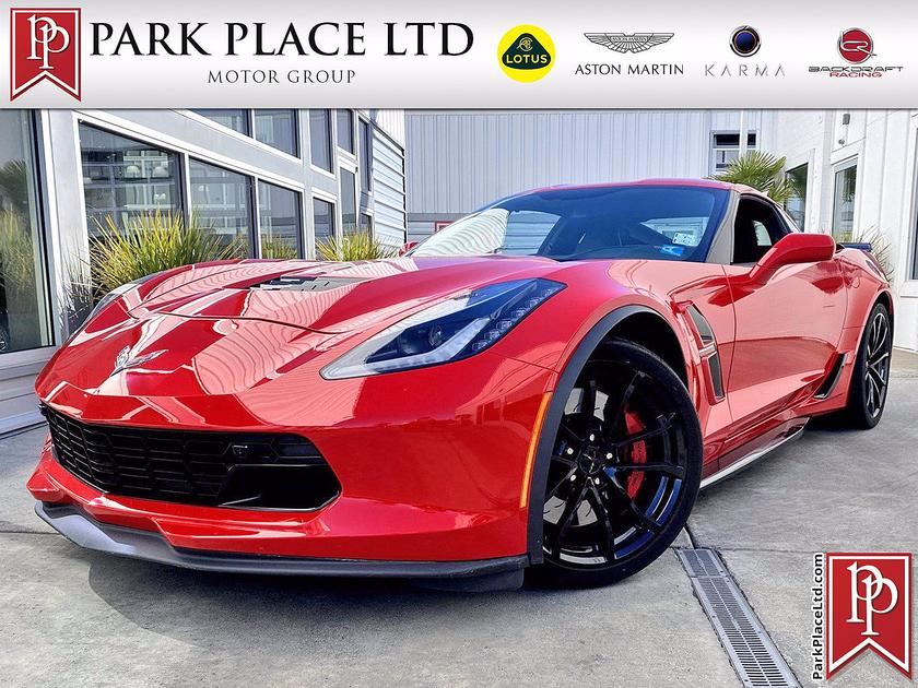 2017 Chevrolet Corvette Grand Sport:9 car images available