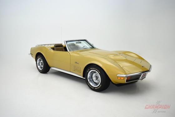 1972 Chevrolet Corvette Roadster:19 car images available