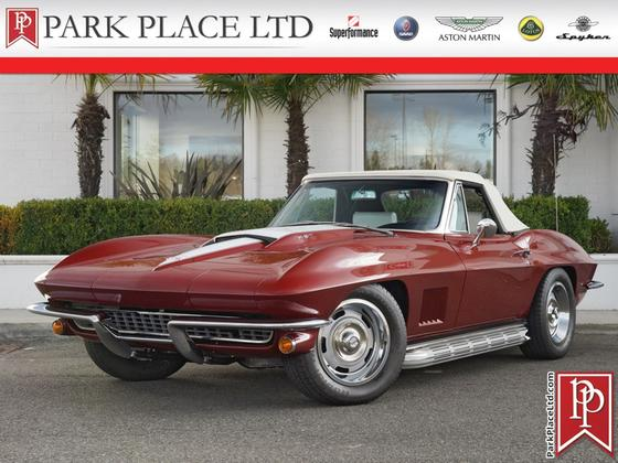 1967 Chevrolet Corvette Roadster:24 car images available