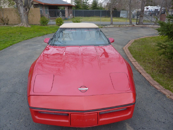 1987 Chevrolet Corvette Roadster