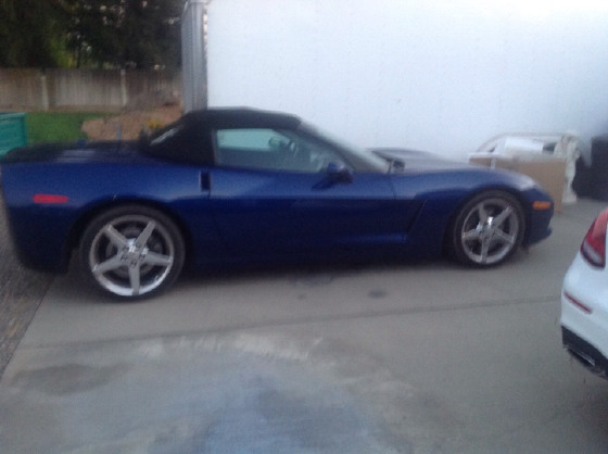2005 Chevrolet Corvette Roadster