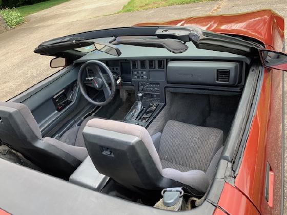 1987 Chevrolet Corvette Roadster