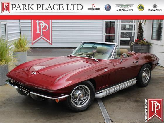 1965 Chevrolet Corvette Roadster:24 car images available