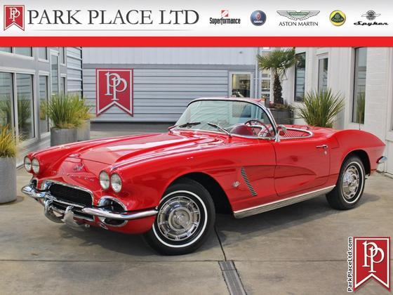 1962 Chevrolet Corvette Roadster:24 car images available