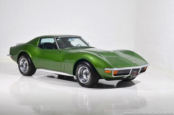 1972 Chevrolet Corvette Stingray:24 car images available