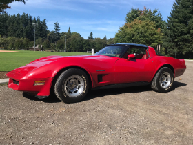 1982 Chevrolet Corvette Stingray
