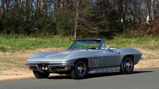 1966 Chevrolet Corvette Stingray:24 car images available
